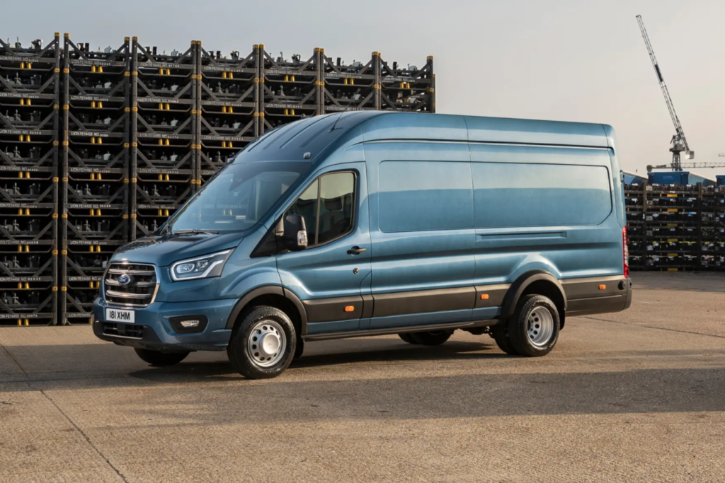 Ford's New Five-Tonne Transit for Construction Firms